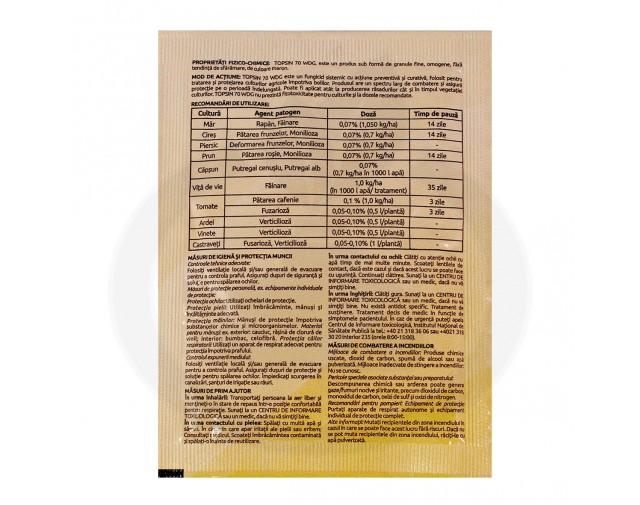 nippon soda fungicid topsin 70 wdg 10 g - 5