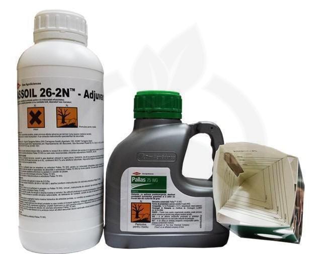 dow agro sciences erbicid pallas 75wg 500 g adjuvant 1 litru - 4