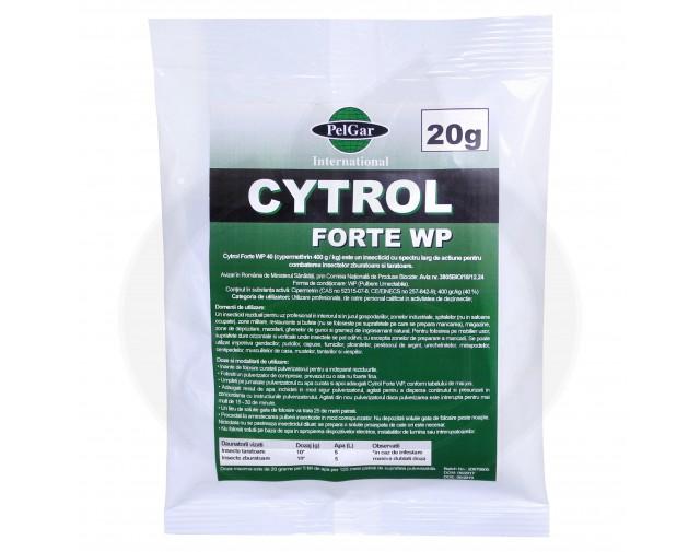 pelgar insecticid cytrol forte wp 20 g - 1