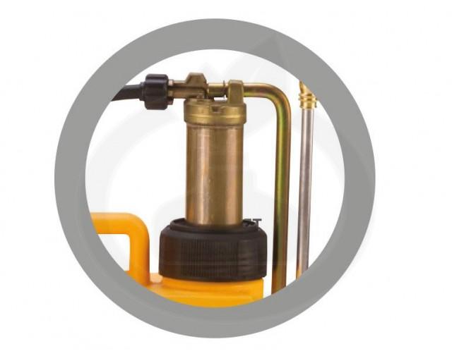 volpi aparatura pulverizator uni 15l pompant cupru - 2
