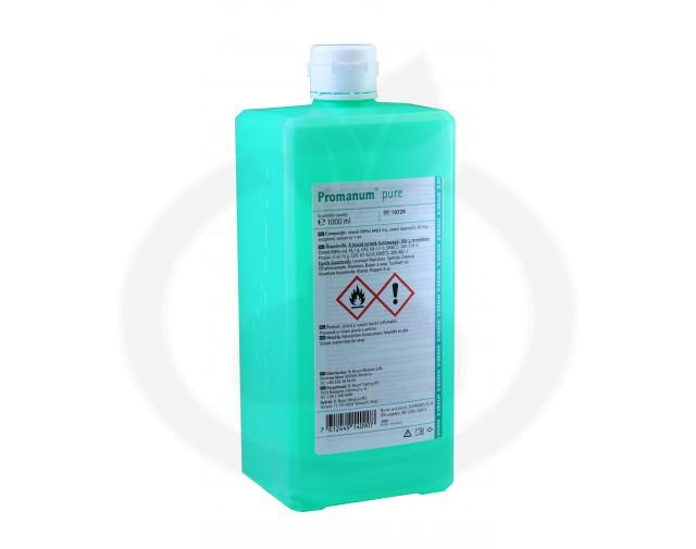 b.braun dezinfectant promanum pure 1 litru - 3