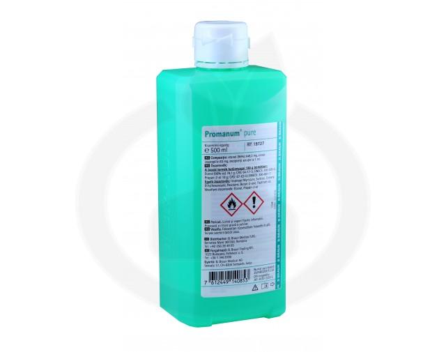 b.braun dezinfectant promanum pure 500 ml - 3