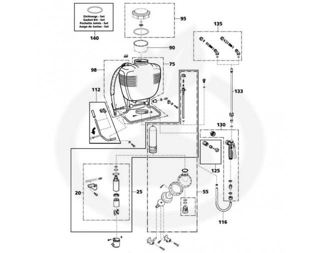 solo aparatura pulverizator 473d - 6