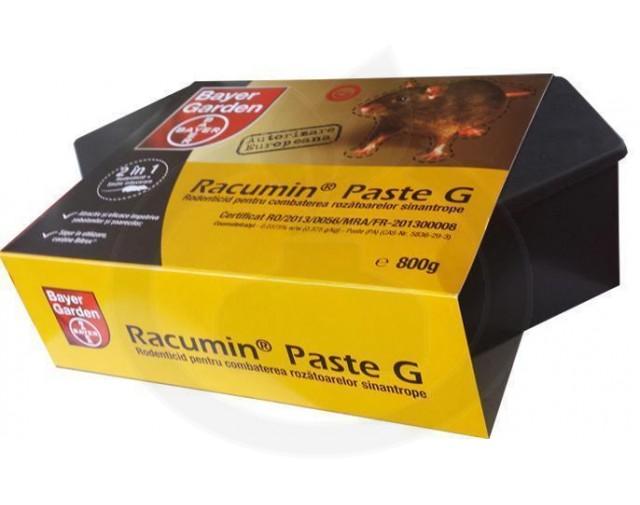 bayer rodenticid racumin paste g 800 g+statie - 4