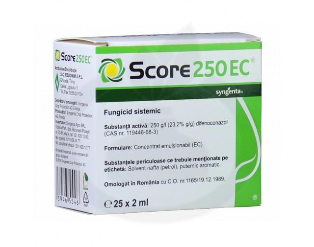 syngenta fungicid score 250 ec 2 ml - 2
