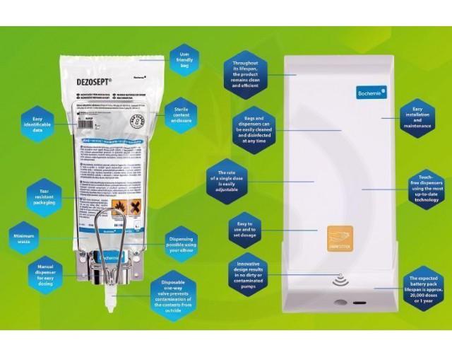 bochemie dezinfectant maini septoderm gel - 3
