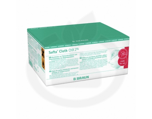 b.braun dezinfectant softa cloth chx 2%100 buc - 4