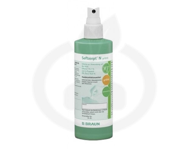b.braun dezinfectant softasept n 250 ml - 2