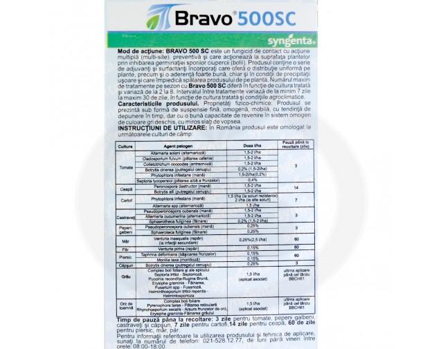 syngenta fungicid bravo 500 sc 20 ml - 5