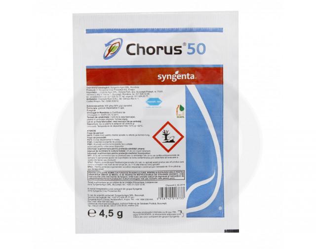 syngenta fungicid chorus 50 wg 4.5 g - 2