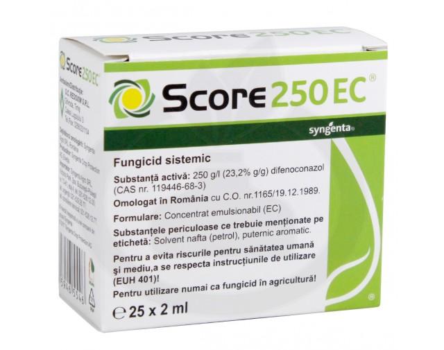 syngenta fungicid score 250 ec 2 ml - 5
