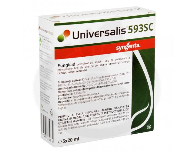 syngenta fungicid universalis 593 sc 20 ml - 1