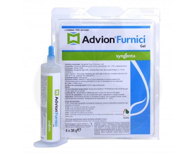 syngenta insecticid advion furnici gel 30 g - 6