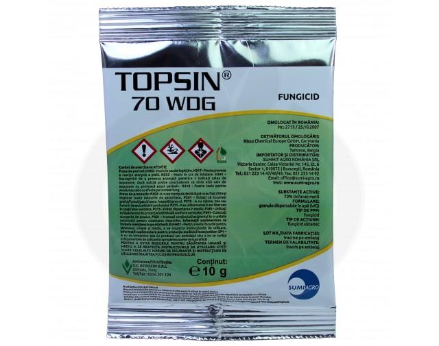 nippon soda fungicid topsin 70 wdg 10 g - 1