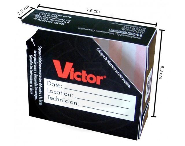 woodstream capcana victor m330 adeziv gandaci set 2 capcane - 4