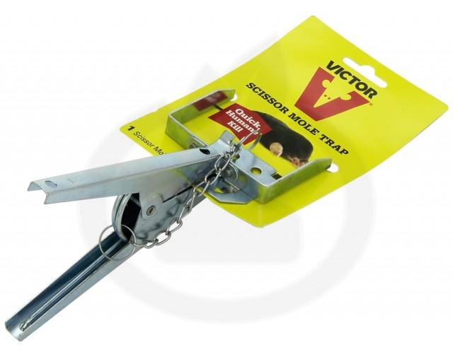 woodstream capcana victor scissor mole trap cartite - 3