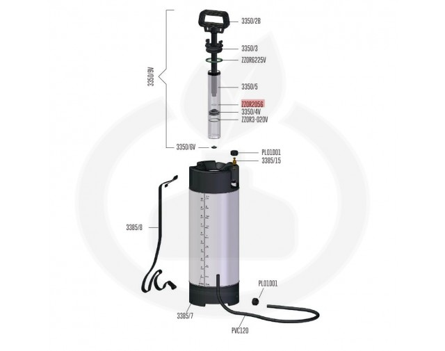 volpi consumabil o ring to the pumping handle zzor2056 - 1