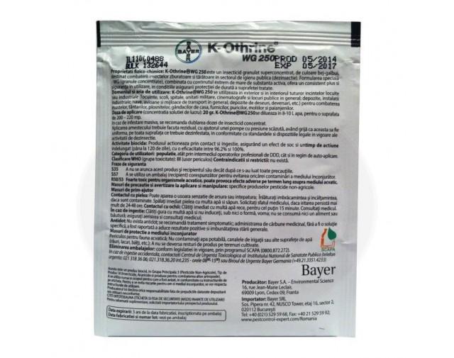 bayer insecticid k othrine wg 250 20 g - 6
