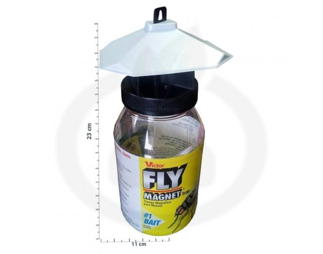 woodstream capcana victor fly magnet 1 litru muste 1 buc - 3