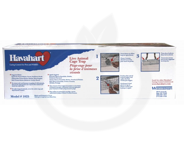 woodstream capcana havahart 1025 animale 2 intrari - 5